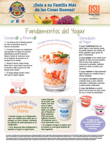 Yogur Últimos consejos Alimentos