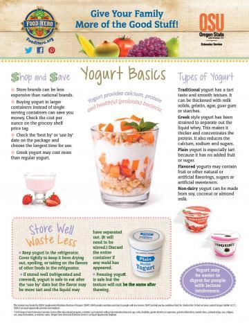 Yogurt Monthly