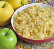 Photo of applesauce
