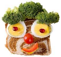 Haz tu comida divertida.