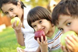 Help children try new foods.