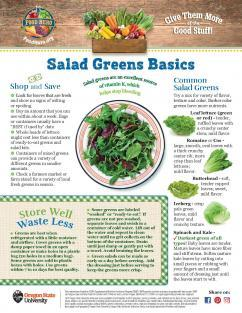 Image of Salad Greens Monthl