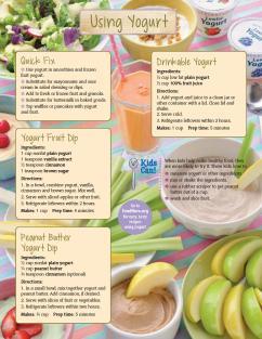 Using Yogurt