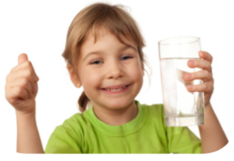 Drink a glass of water instead of a sugary drink.